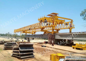 Beam Launcher Gantry Crane for railway construction project with Reliable performance