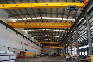 Crab Framed Electric Single Girder Overhead Cranes For General Engineering Application